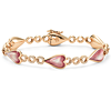 Pink Mother of Pearl and Rose Gold Bracelet